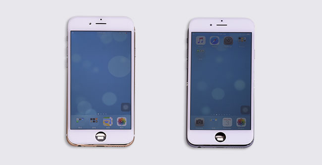 compare oem and copy screen
