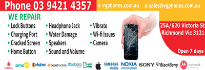 Mobile Phone repairs Melbourne, same day service