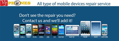 We repair all smartphone damaged free quote
